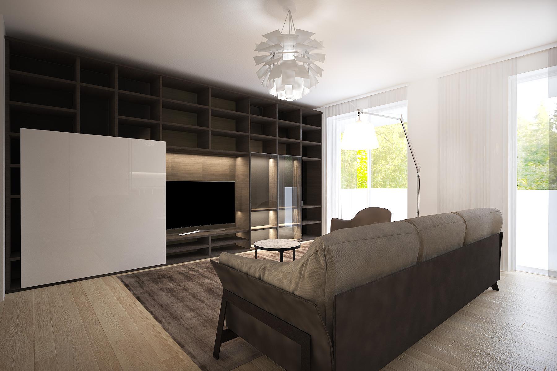 Appartamento alberto mario desearq studio architettura e for Appartamento interior design