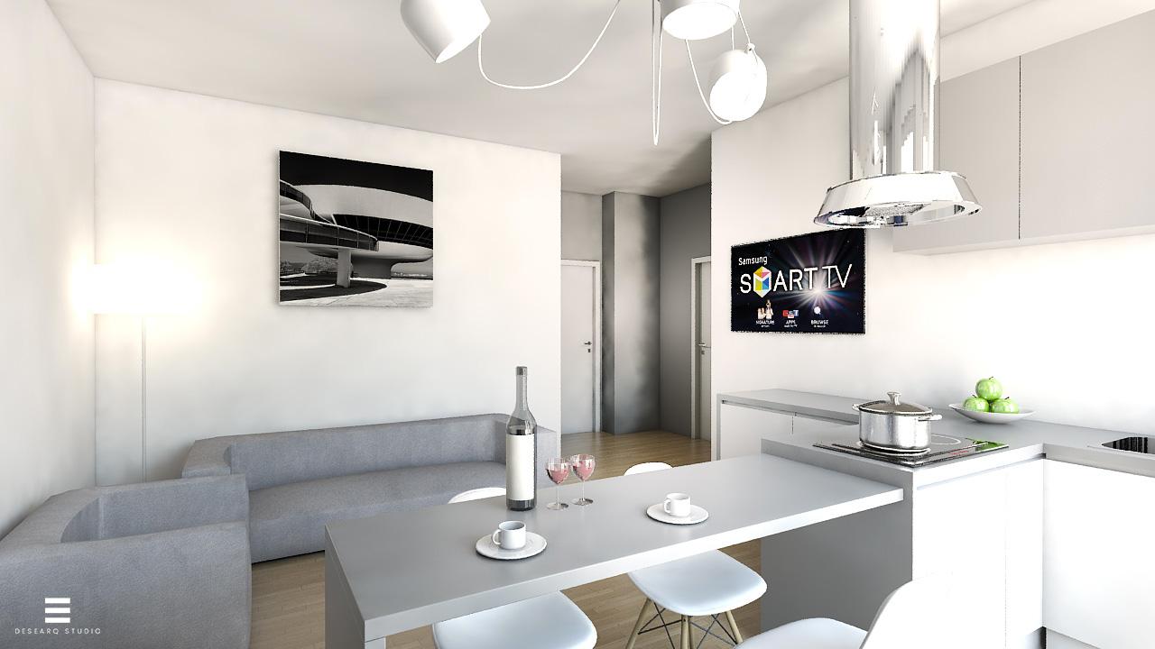 Appartamento al sempione desearq for Cucinare definizione